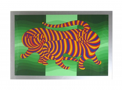 Vasarely, Victor - Panther