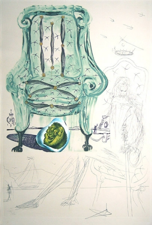 Dali, Salvador - Imaginations Armchair