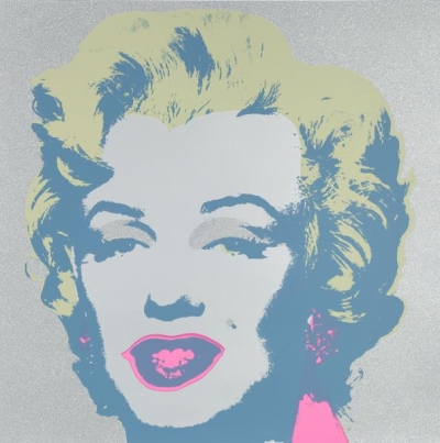 Warhols Sunday B.Morning Edition - Marilyn Diamand Staub Kopf