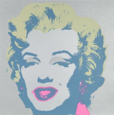 Warhols Sunday B.Morning Edition - Marilyn Diamant Staub Kopf
