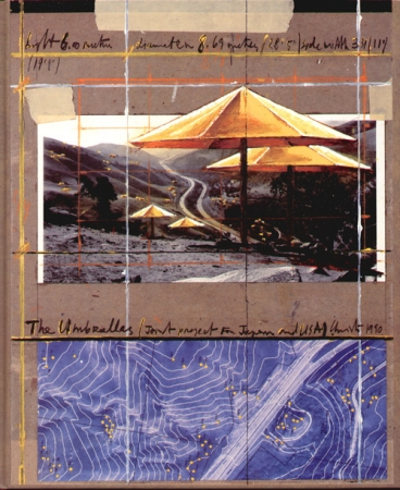 Christo and Jeanne-Claude - The Umbrellas