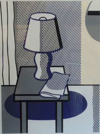 Lichtenstein, Roy -  Still Life with table Lamp (The Poetry Projekt Symposium)