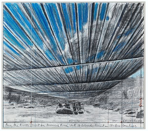 Christo - Over The River B